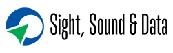 Sight, Sound & Data Logo